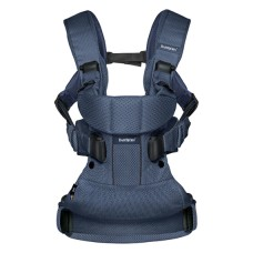 Рюкзак-кенгуру BabyBjorn Baby Carrier One Air Navy Blue Mesh, синий