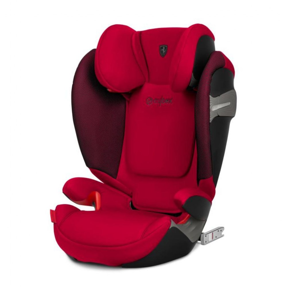 Автокресло Solution S-fix / Racing Red red PU1