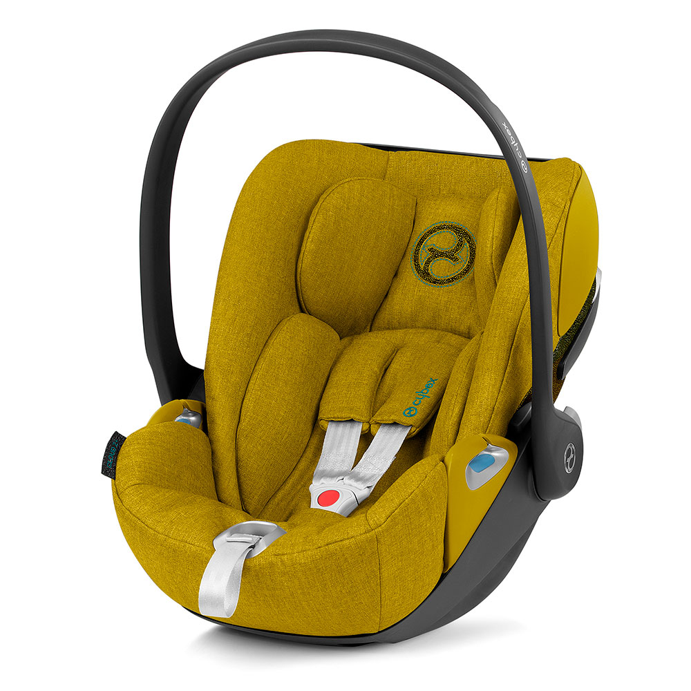 Автокресло Cybex Cloud Z i-Size Plus Mustard Yellow