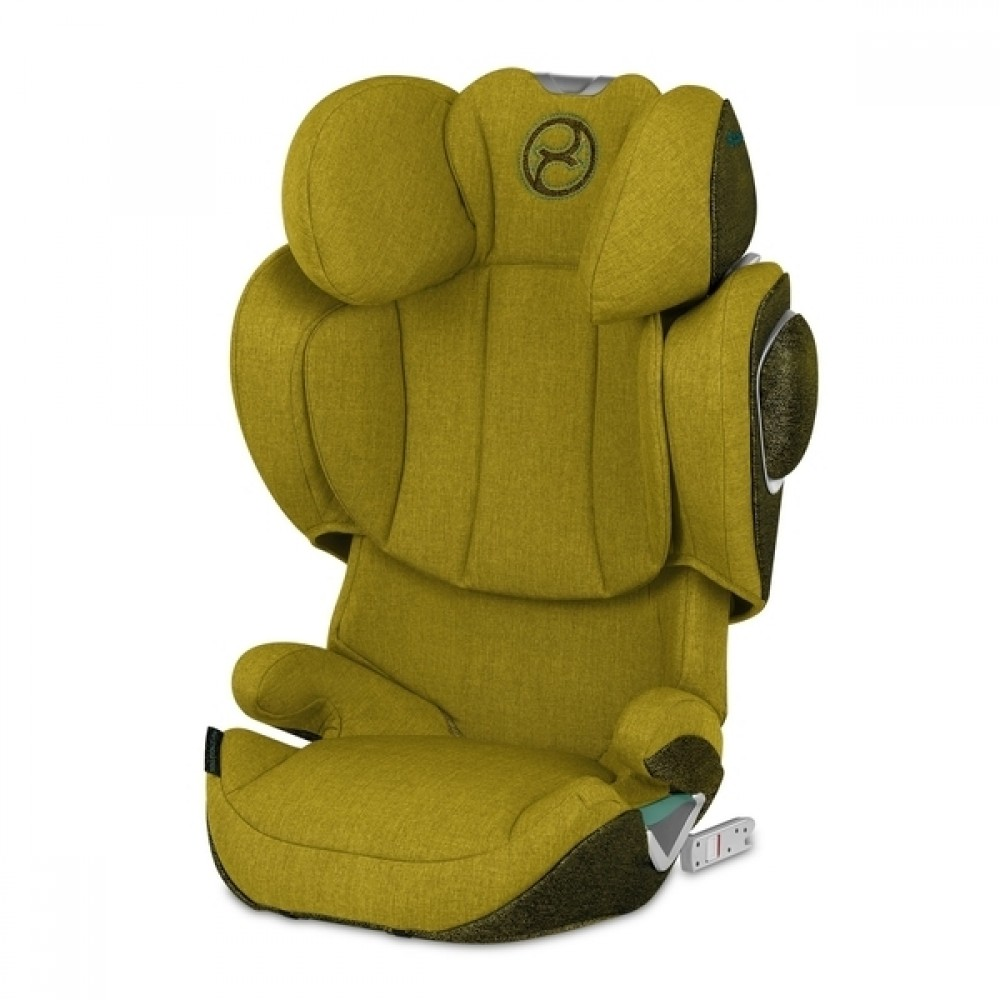 Автокресло Cybex Solution Z i-Fix Plus Mustard Yellow yellow