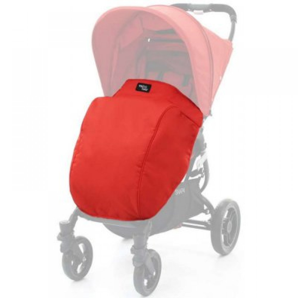 Накидка на ніжки Valco baby Boot Cover Snap / Fire Red